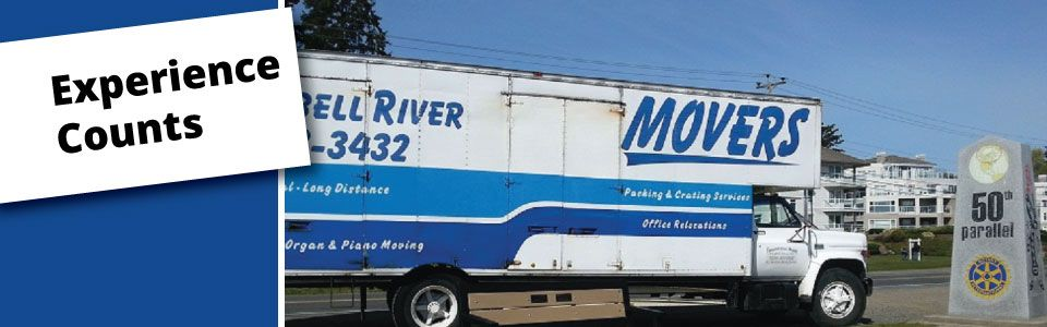 Large moving truck - Experience Counts